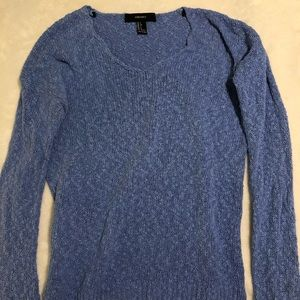 Forever 21 Blue Knit Sweater